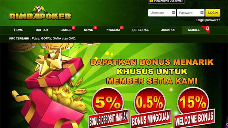 situs rimba poker idn